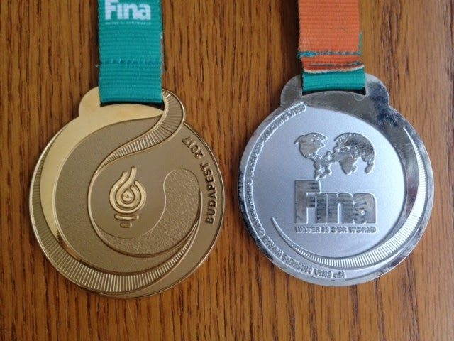 Gold and silver medals at Masters World 2017