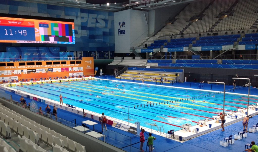 Long Course Pool for FINA World Masters