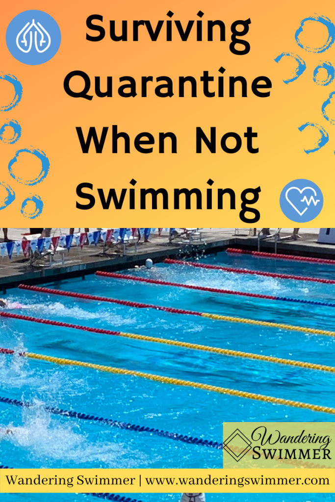 surviving quarantine when not swimming